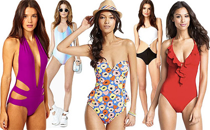one piece swim suits