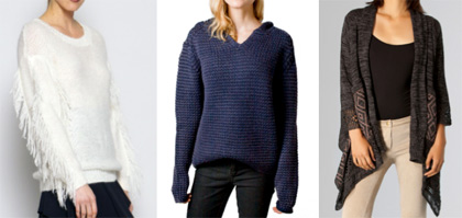 Knit Sweater Guide