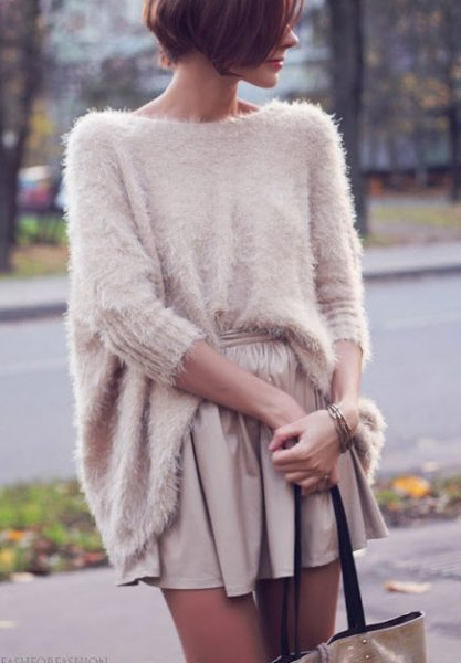 2015 Fashion Trends: Fuzzy Sweater