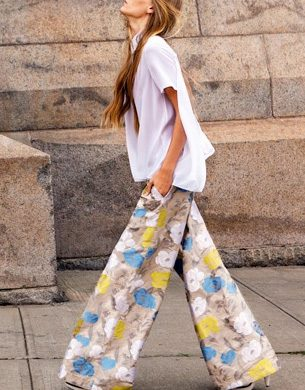 2015 Fashion Wide Leg Pants