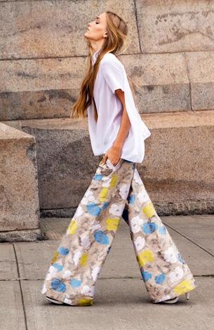 2015 Fashion Wide Leg Pants