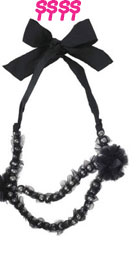 Lanvin Glass Pearl Necklace