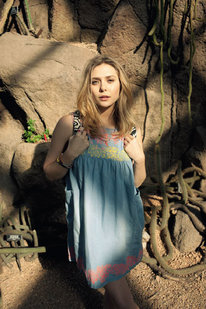 Elizabeth Olsen for ASOS