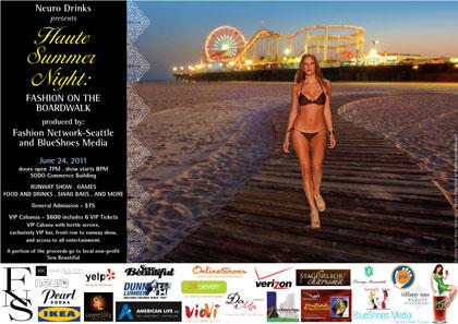 Haute Summer Night: Fashion on the Boardwalk