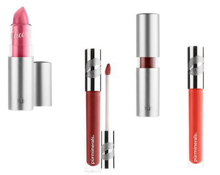 Lip Color - Pur Minerals Chateau de Vine Mineral Lipstick & Lip Gloss