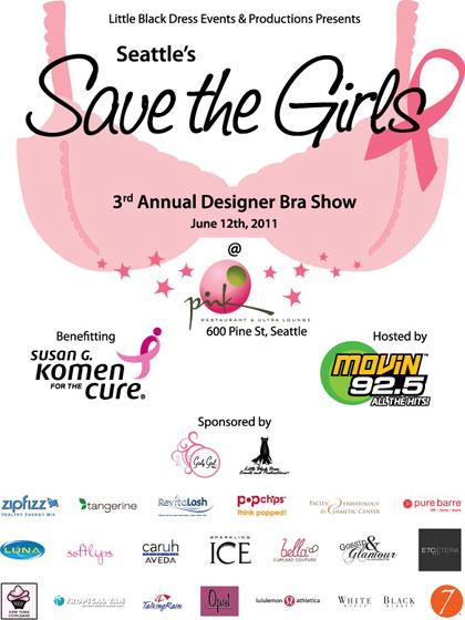 Save the Girls Designer Bra Fashion Show
