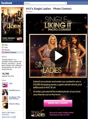 VH1 Single Ladies photo contest