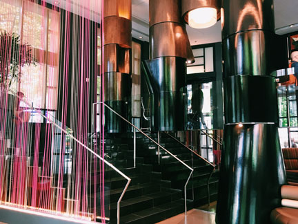 W Hotel Seattle Lobby