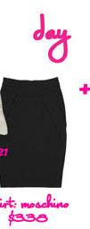 Moschino High-Waisted Pencil Skirt