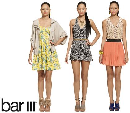 Macys Bar III Clothing