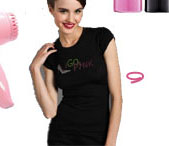Trina Turk I Go Pink T-Shirt