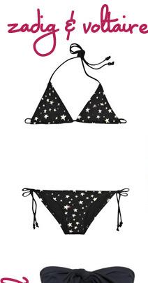 Zadig & Voltaire Star Print Bikini