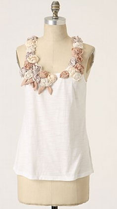 CC: Wardrobe Wish List: Anthropologie Tecolote Tank