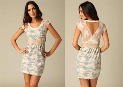 Free People Seracina Tiger Lace Dress