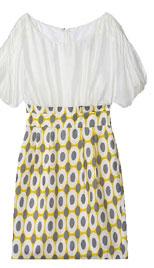 Plastic Island Yellow Polka Dot Dress