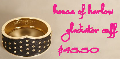 Accessory Deal of the Day: Save 30% on the House of Harlow Gladiator Cuff