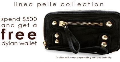 Get a Free Linea Pelle Dylan Wallet