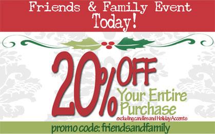 JB&Me Friends & Family Discount