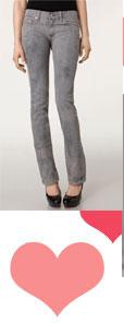 Rag & Bone JEAN Straight Leg Stretch Jeans