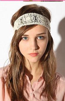 Lace Head Wrap