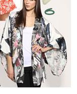Beyond The Valley Mountain View Silk Kimono Jacket