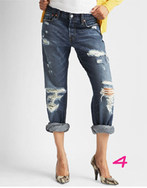 {Capital E}® Boyfriend Jeans