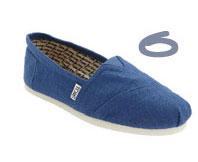 TOMS Classic Linen Slip-On