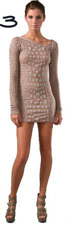 M Missoni Crocodile Intarsia Mini Dress