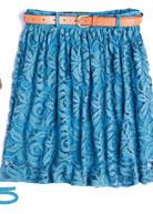 Crochet Belted Skirt