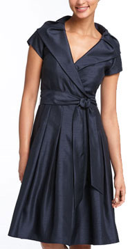 Eliza J Surplice Front Shirtdress
