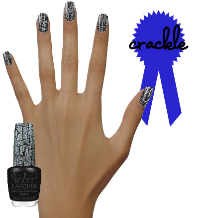 OPI Katy Perry Collection Black Shatter Nail Color