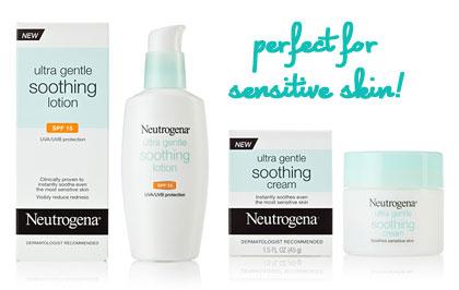 Neutrogena Ultra Gentle Soothing Cream & Lotion