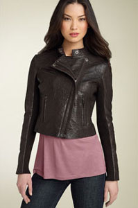 Hinge Leather Biker Jacket