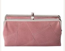 Hobo International Lauren Pieced Double Frame Clutch Wallet