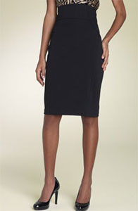 Diane von Furstenberg Zekka Ponte Knit Skirt