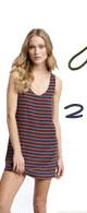 Joie Dawna Mariner Stripe Mini Dress