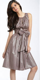 Adrianna Papell Sleeveless Cotton Dress