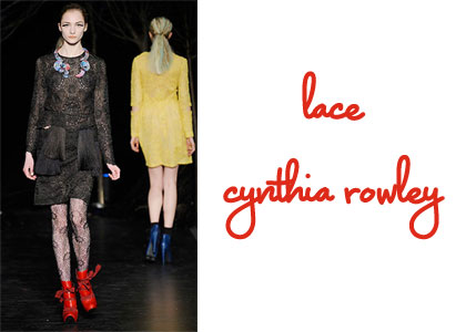 Cynthia Rowley New York Fashion Week Fall 2010