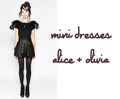 Alice + Olivia New York Fashion Week Fall 2010