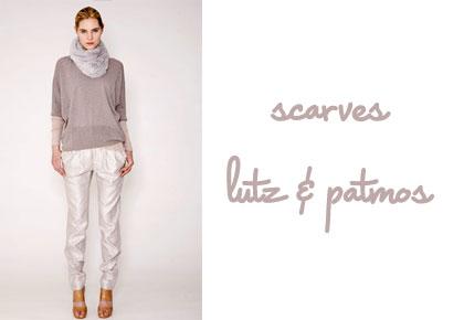 Lutz & Patmos New York Fashion Week Fall 2010