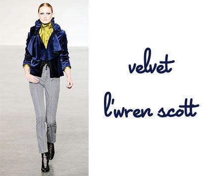 L'Wren Scott New York Fashion Week Fall 2010