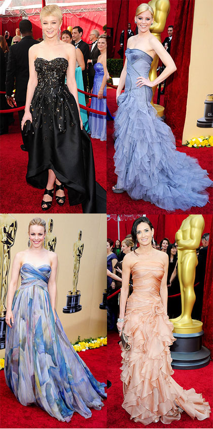 2010 Oscar Fashion - Best Dressed