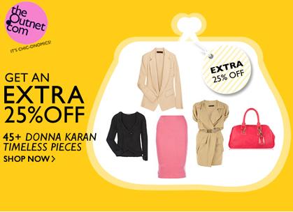 Save an Extra 25% on Donna Karan Timeless Pieces
