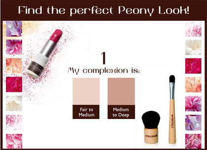 L'Occitane Peony Makeup Collection Spring 2010