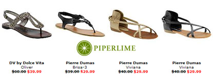 2 Day Secret Sale at Piperlime