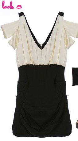 Bensoni Pleated Sheath Dress