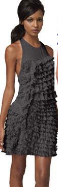 Robert Rodriguez Tiered Ruffle Dress