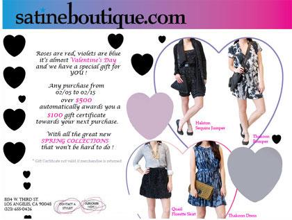 Satine Boutique Save $100