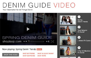 Shopbop.com Denim Buying Guide