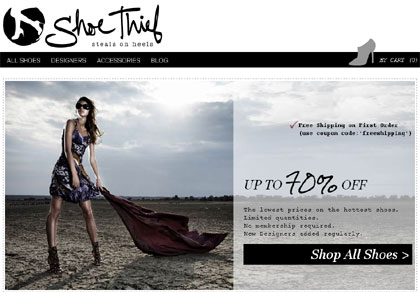 Designer Shoe Discounts - Shoe Thief
